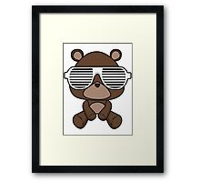 Boss Bear Framed Print