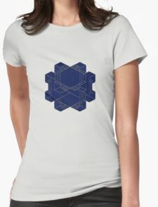 It's complicated! - Dark Blue and Gold edition Womens Fitted T-Shirt
