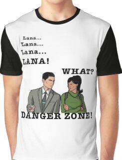Lana The Danger Zone Graphic T-Shirt