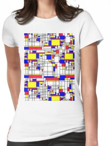 MONDRIAN Womens Fitted T-Shirt