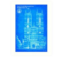 Westminster Abbey - Designed For The Ages Art Print