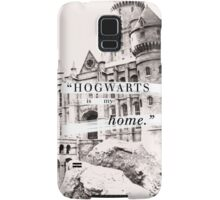 Hogwarts is my home Samsung Galaxy Case/Skin