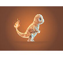 Porymon Charmander | Pokemon Photographic Print