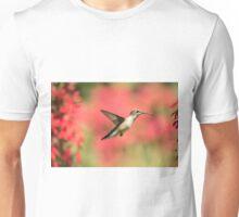 Ruby Throated Hummingbird 2016-6 Unisex T-Shirt