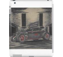 Hot Rod Batmobile iPad Case/Skin
