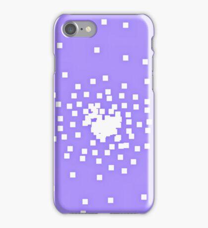 8-Bit Snow Storm iPhone Case/Skin