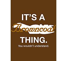 Its a Browncoat thing. Photographic Print