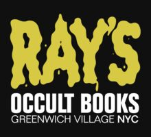 Ray's Occult Books by mannypdesign