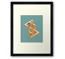 Escher Maze Framed Print
