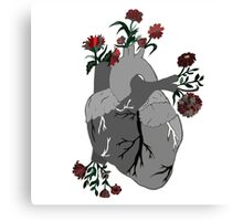 A Decaying Heart Canvas Print