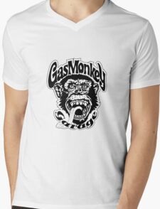 Gas monkey Mens V-Neck T-Shirt