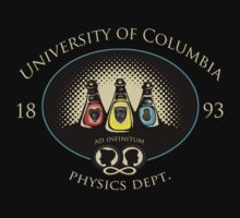 University of Columbia: Physics Department T-Shirt