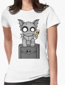 The Night Watcher Womens Fitted T-Shirt