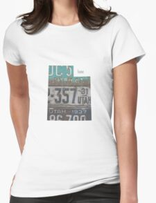 Utah Home Womens Fitted T-Shirt