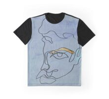 squigglehead with ochre eyebrow and cold ear - drawing Graphic T-Shirt