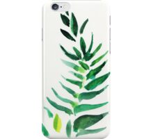 Serenity - original watercolor of a house plant iPhone Case/Skin