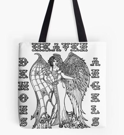 The Battle Within Tote Bag