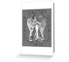 The Battle Within Greeting Card