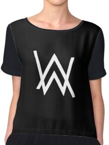 Alan Walker Faded Chiffon Top