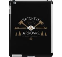 Hatchets and Arrows Look Awesome iPad Case/Skin