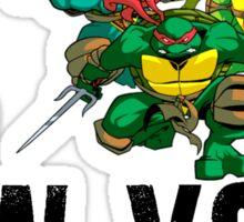 I Ninja Turtle New York - White Sticker