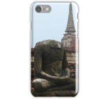 Headless buddha iPhone Case/Skin