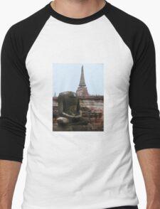 Headless buddha Men's Baseball ¾ T-Shirt