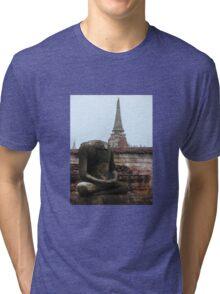 Headless buddha Tri-blend T-Shirt