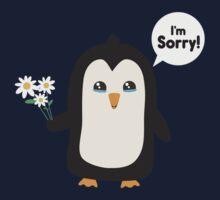Penguin apology   One Piece - Short Sleeve