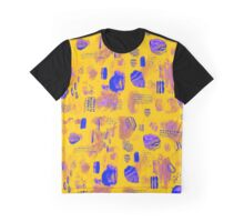 Crystal and Rock (yellow version) Graphic T-Shirt