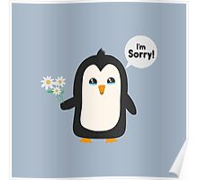 Penguin apology   Poster