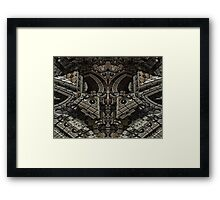 Gothic Steampunk Structure Framed Print