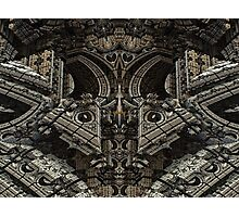 Gothic Steampunk Structure Photographic Print