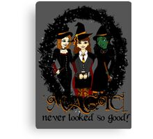 The Witches Three Canvas Print