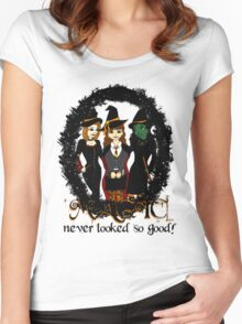 The Witches Three Women's Fitted Scoop T-Shirt