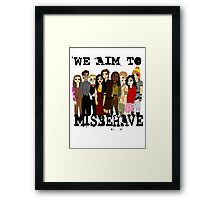Magically Misbehaved Framed Print