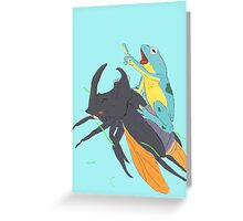 Adventure lovers Greeting Card