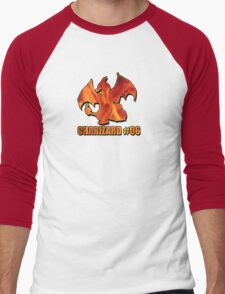 Charizard #06 Fire T-Shirt and other products Men's Baseball ¾ T-Shirt