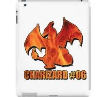 Charizard #06 Fire T-Shirt and other products iPad Case/Skin