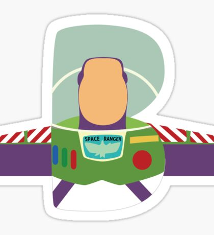 B is for Buzz Sticker
