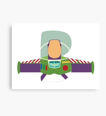 B is for Buzz Canvas Print