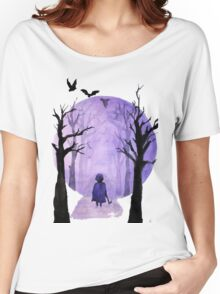 A child's walks back Women's Relaxed Fit T-Shirt