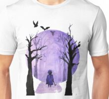 A child's walks back Unisex T-Shirt