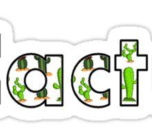 #Cactus Sticker