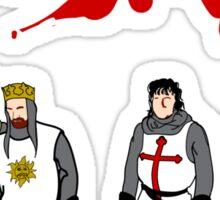 Holy Grail Knights Sticker