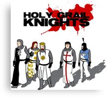 Holy Grail Knights Canvas Print