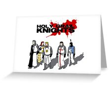 Holy Grail Knights Greeting Card