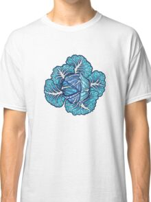 blue winter cabbage Classic T-Shirt