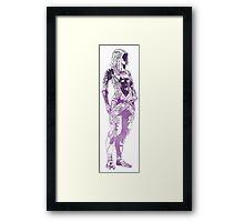 Mass Effect - Tali Framed Print