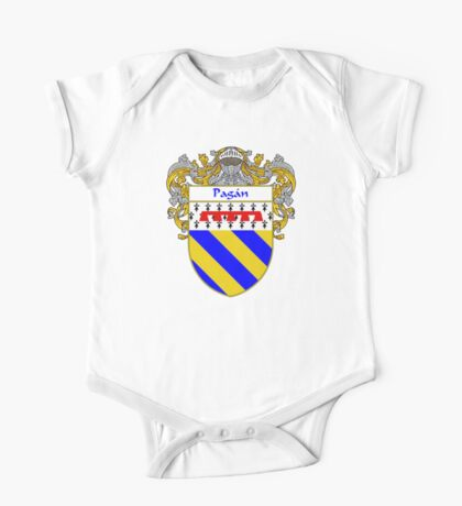 Pagan Coat of Arms/Family Crest One Piece - Short Sleeve